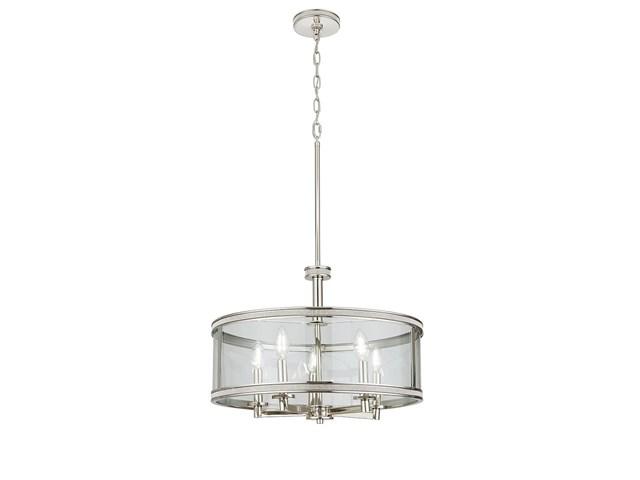 Kichler 45629pn Stelata Contemporary Polished Nickel 3: Angelica™ 3 Light Orb Pendant Polished Nickel™