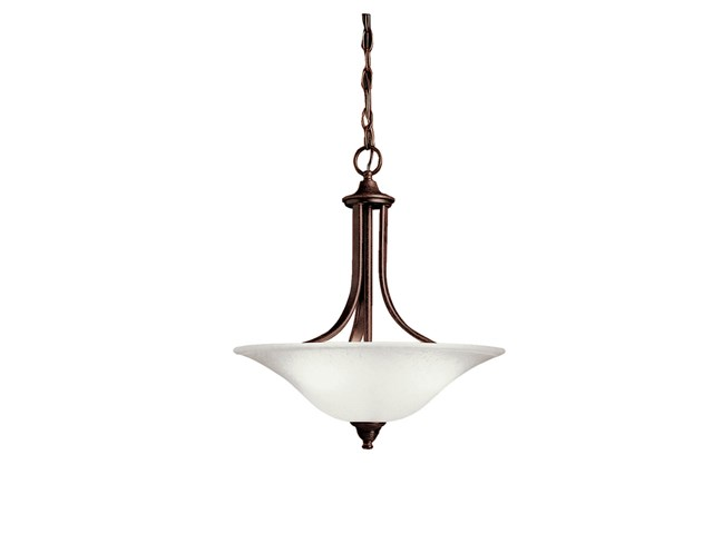 Dover 3 Light Convertible Inverted Pendant Tannery Bronze™