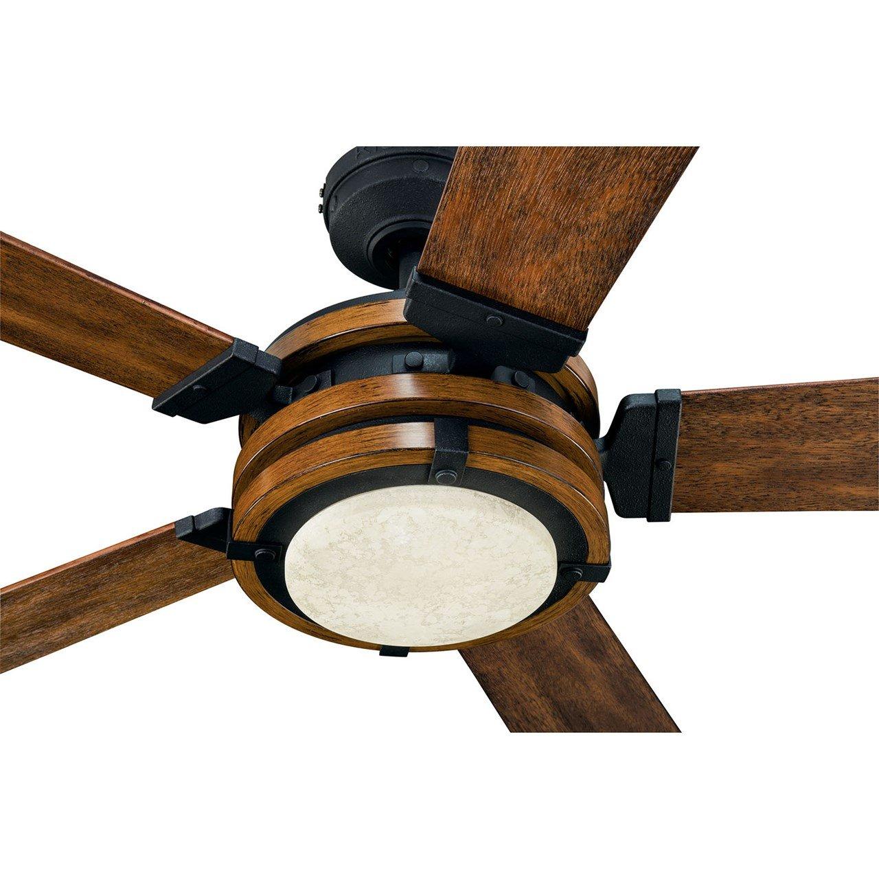 Barrington Led 52 Fan Distressed Black Kichler Lighting