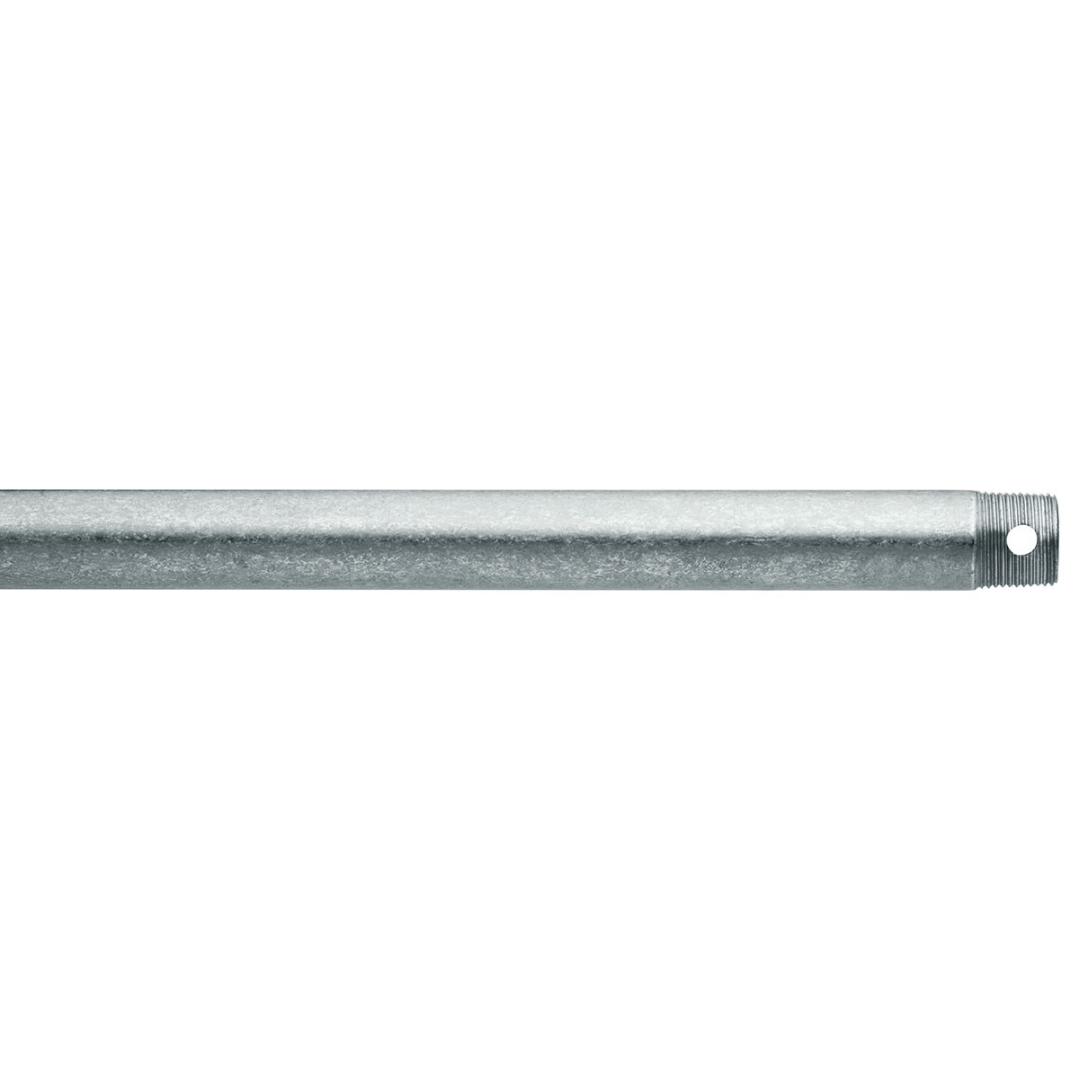 "Dual Threaded 18"" Downrod Galvanized Steel"