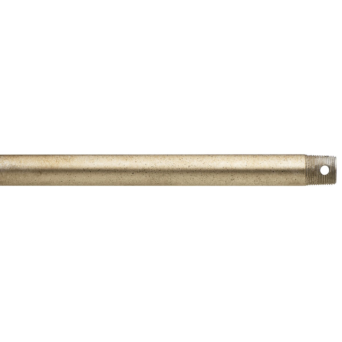 "Dual Threaded 18"" Downrod Sterling Gold"