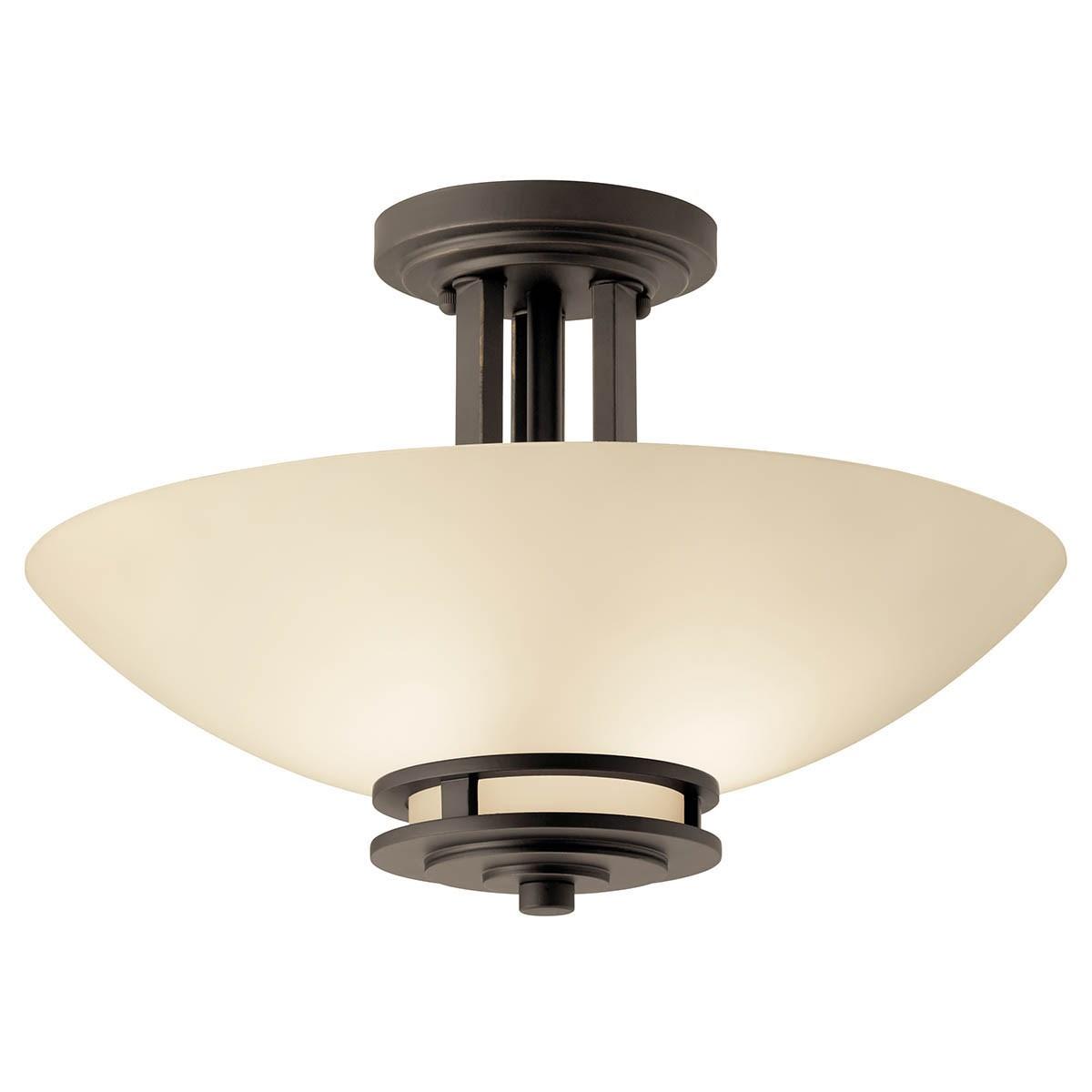 Hendrik 2 Bulb Semi Flush Olde Bronze® | Kichler Lighting