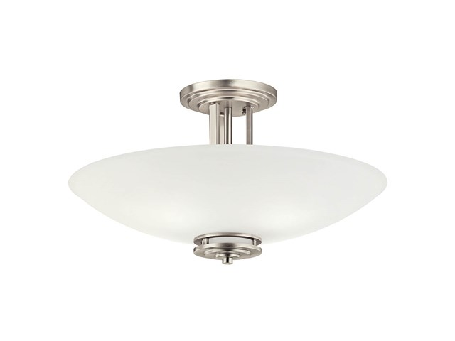 Hendrik 4 Light Semi Flush Brushed Nickel