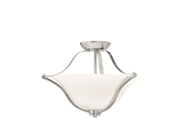 Langford™ 2 Light Semi Flush Brushed Nickel