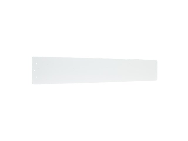 "Arkwright™ 48"" Reversible Wood Blade Clear White and Silver Speck"