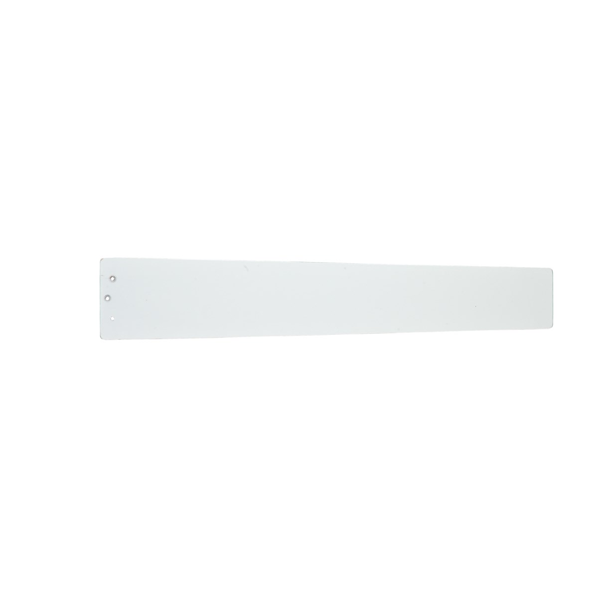 "Arkwright™ 58"" Reversible Wood Blade Clear White and Silver Speck"