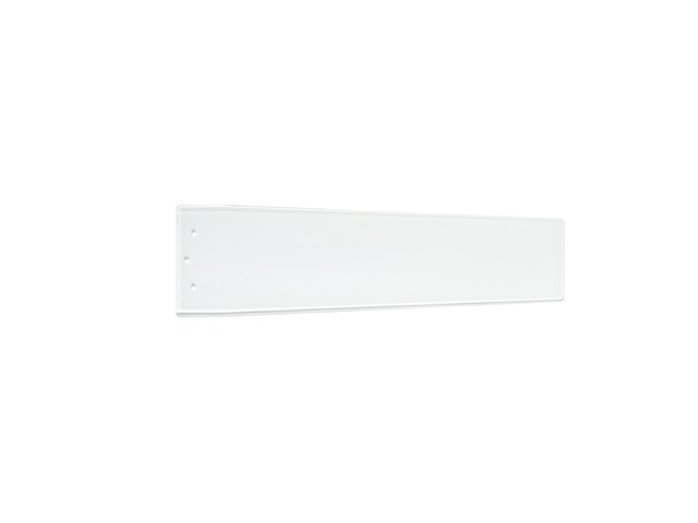 "Arkwright™ 38"" Polycarbonate Blade Clear White and Silver Speck"