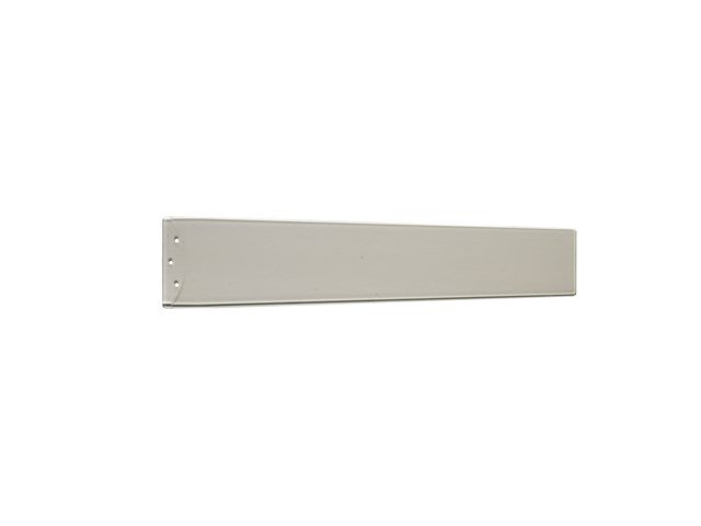 "Arkwright™ 48"" Polycarbonate Blade Clear Champagne and Silver"