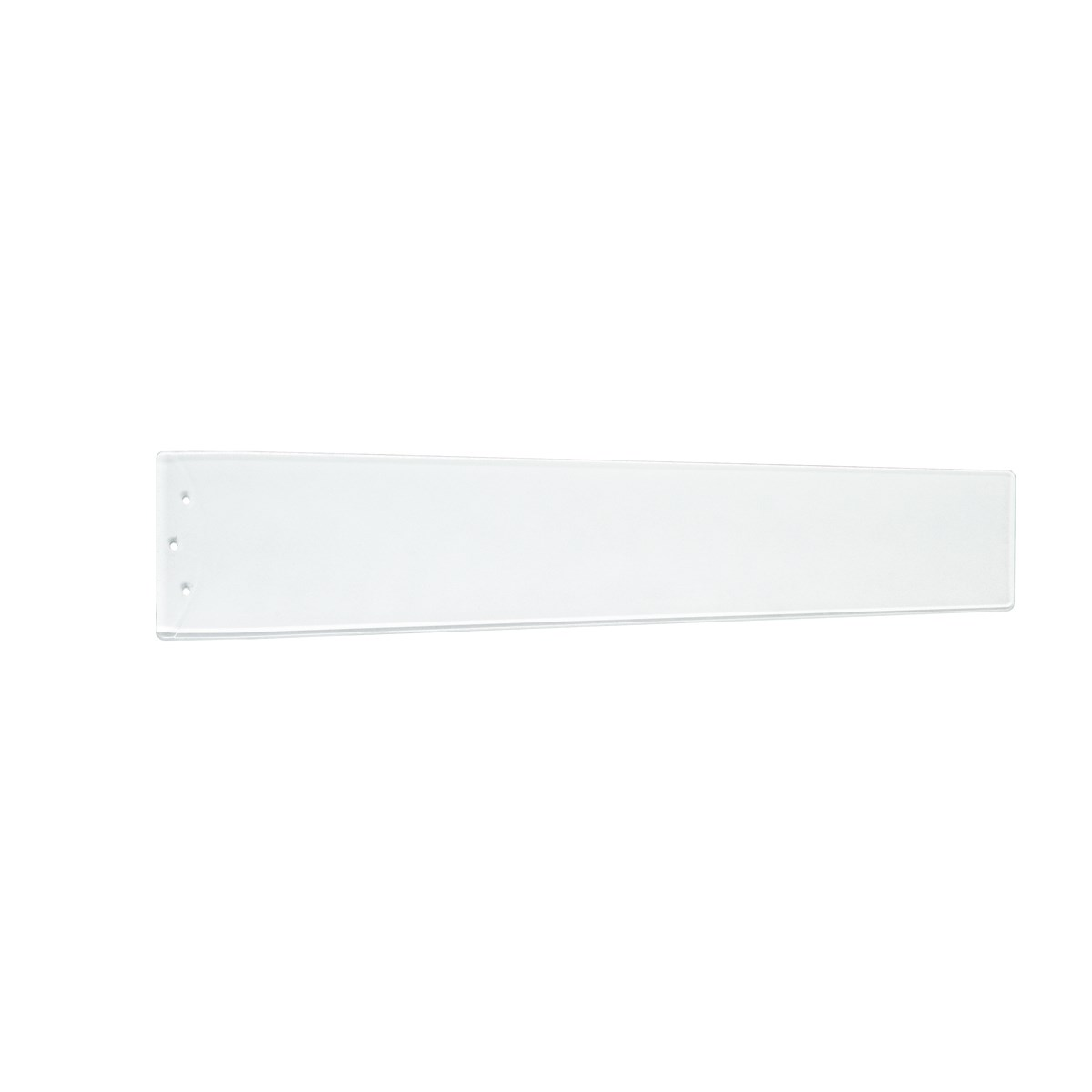 "Arkwright™ 48"" Polycarbonate Blade Clear White and Silver Speck"