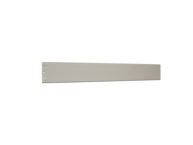 "Arkwright™ 58"" Polycarbonate Blade Clear Champagne and Silver"