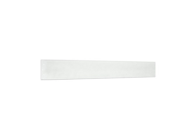 "Arkwright™ 58"" Polycarbonate Blade Clear White and Silver Speck"