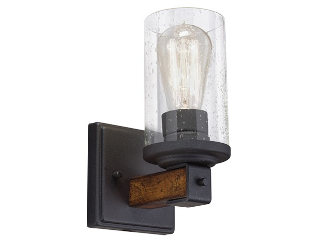 Barrington™ 1 Light Wall Sconce Distressed Black