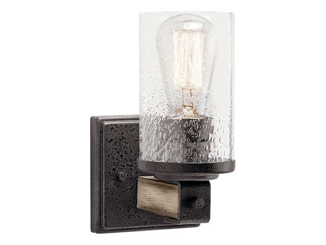 Barrington™ 1 Light Wall Sconce Anvil Iron