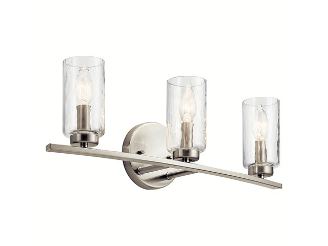 Marita 3 Light Vanity Light Brushed Nickel
