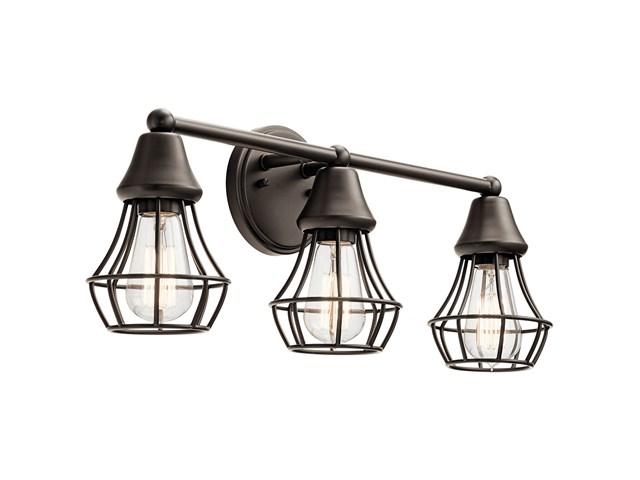Shop Kichler Lighting 4 Light Bayley Olde Bronze Bathroom: Bayley™ 4 Light Vanity Light Olde Bronze®