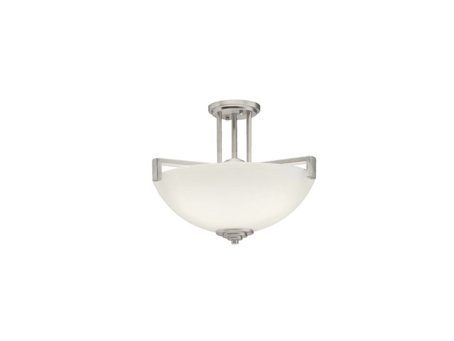 Eileen™ 3 Light Convertible Pendant Brushed Nickel