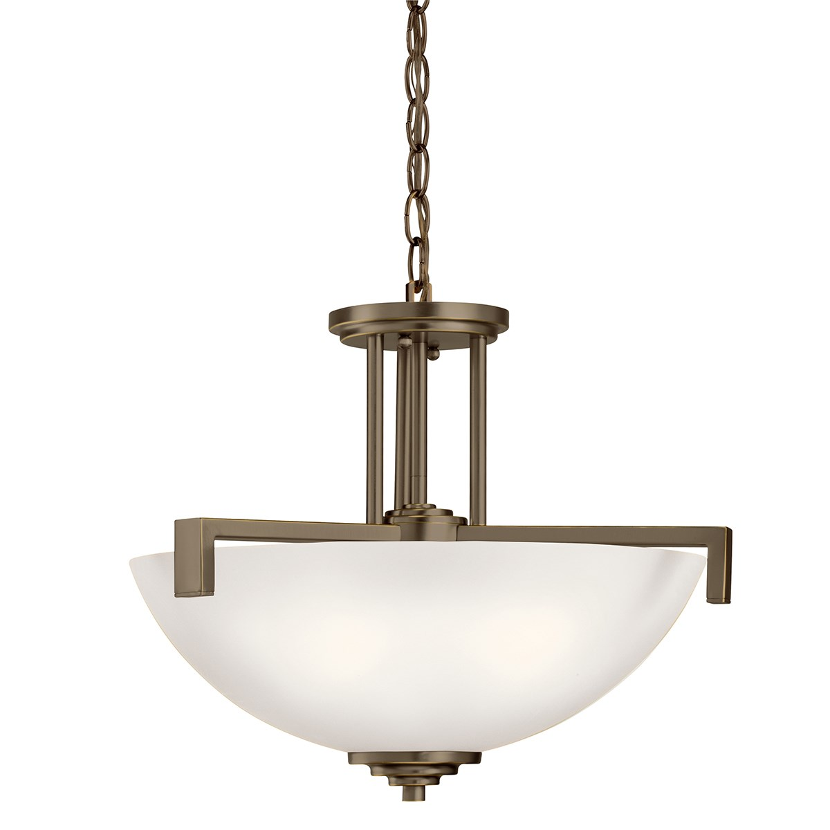 Eileen 3 Light Convertible Pendant with LED Bulbs Olde Bronze®
