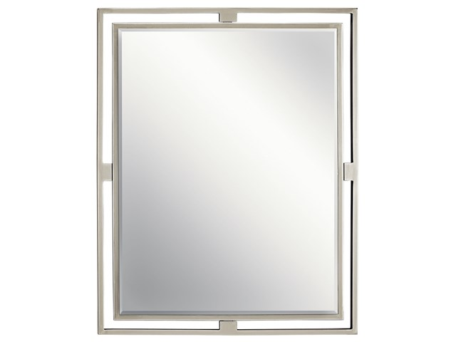 Hendrik™ Rectangular Mirror Brushed Nickel