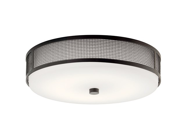 "Ceiling Space 13.25"" LED Flush Mount Olde Bronze®"