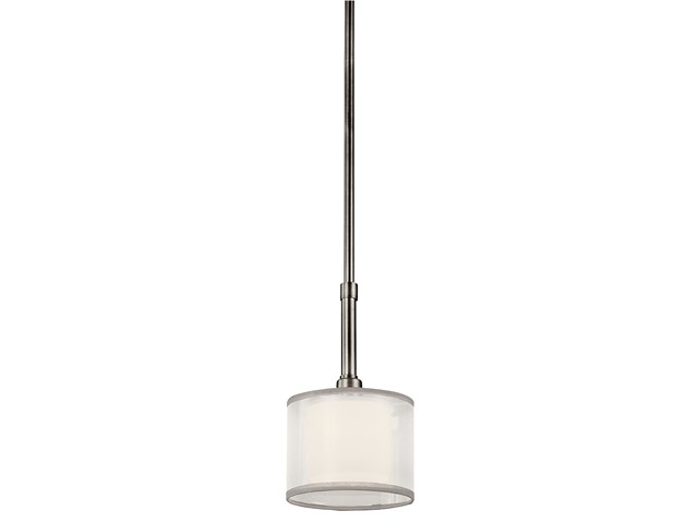 Lacey™ 1 Light Mini Pendant Antique Pewter