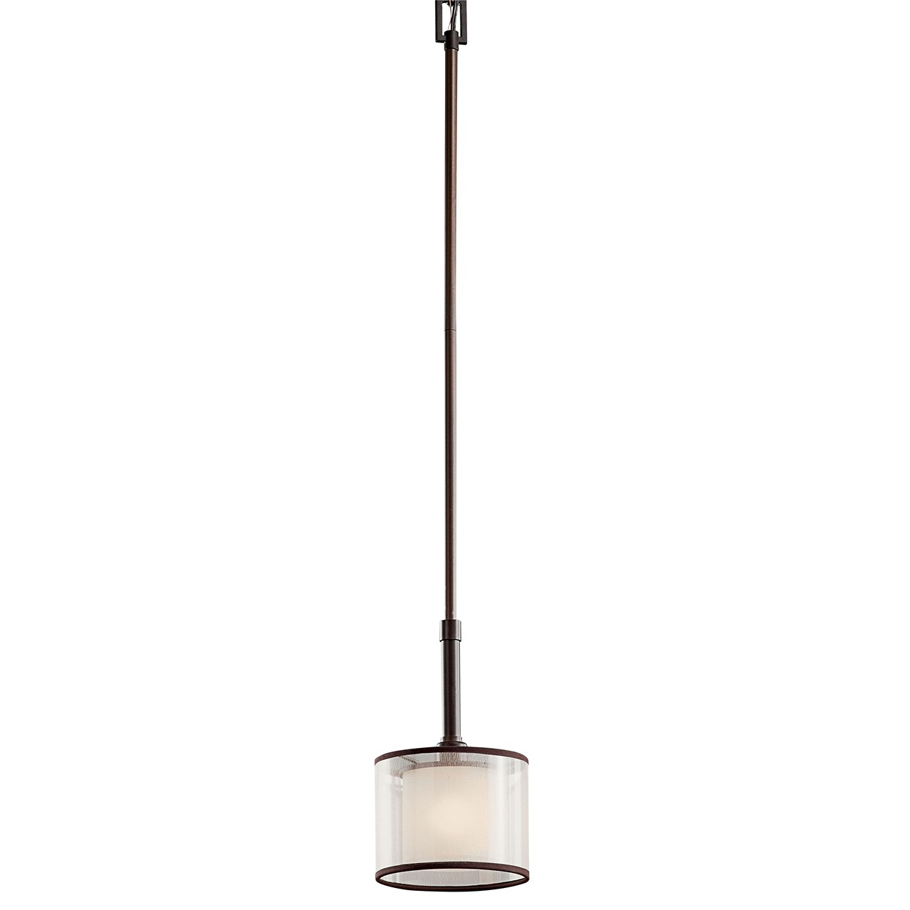 Lacey 1 Light Mini Pendant Mission Bronze Kichler Lighting