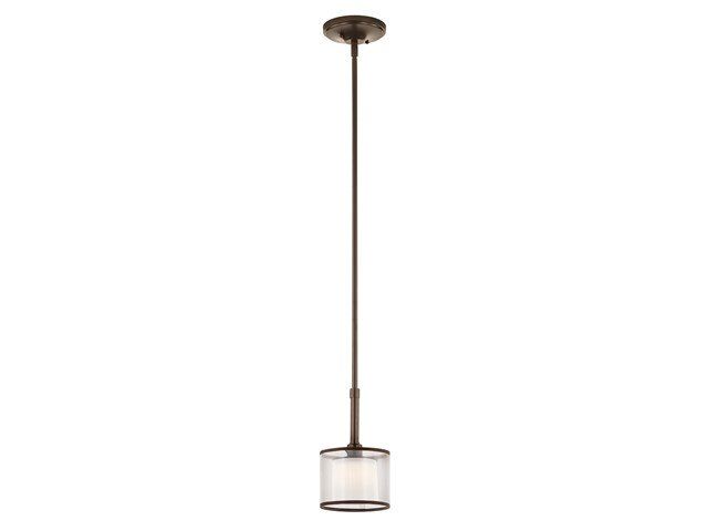 Lacey 1 Light Mini Pendant Mission Bronze