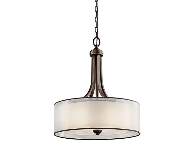 Lacey™ 4 Light Pendant Mission Bronze