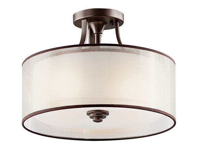 Lacey™ 3 Light Semi Flush Mission Bronze