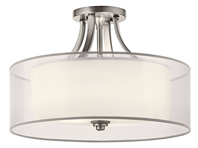 Lacey™ 4 Light Semi Flush Antique Pewter