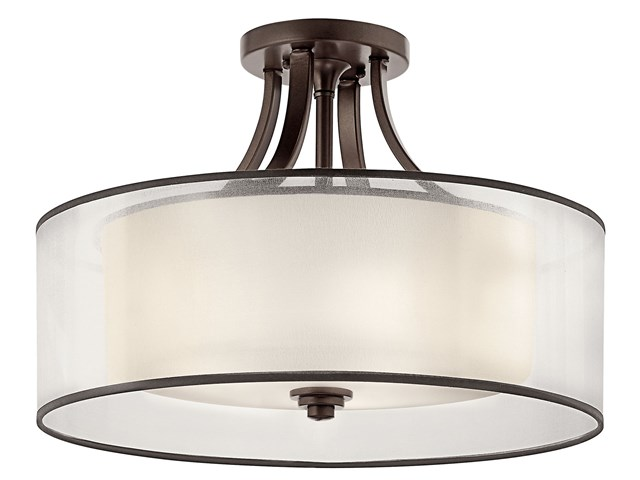 Lacey™ 4 Light Semi Flush Mission Bronze