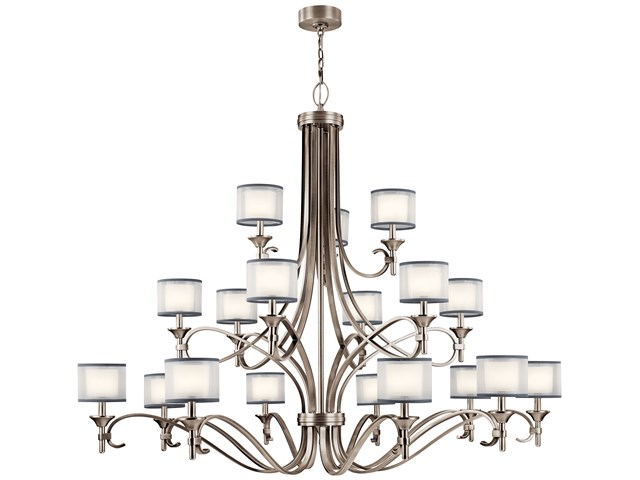 Lacey™ 18 Light Grand Chandelier Antique Pewter
