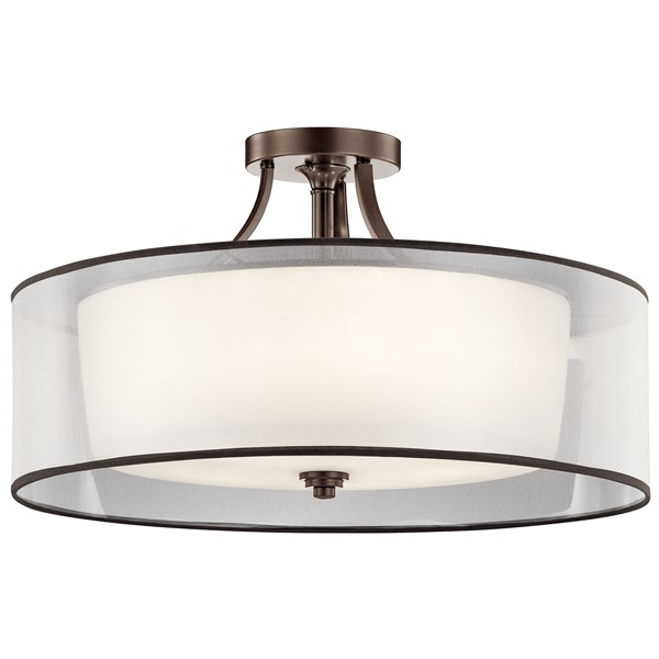Lacey™ 5 Light Semi Flush Mission Bronze
