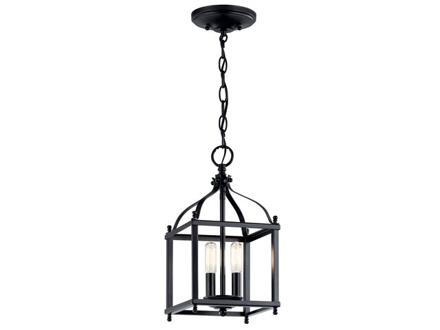 Larkin™ 2 Light Mini Pendant Black