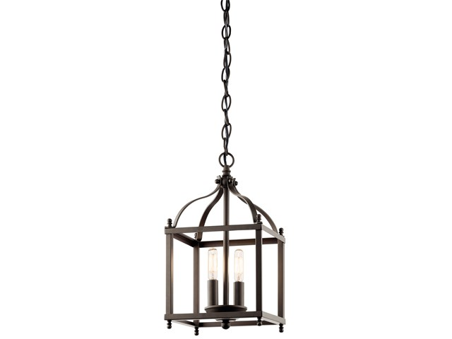 Larkin™ 2 Light Mini Pendant Olde Bronze®