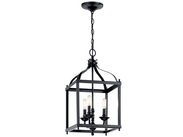 Larkin™ 3 Light Pendant Black