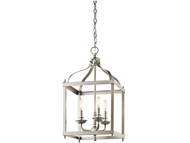 Larkin™ 3 Light Pendant Brushed Nickel