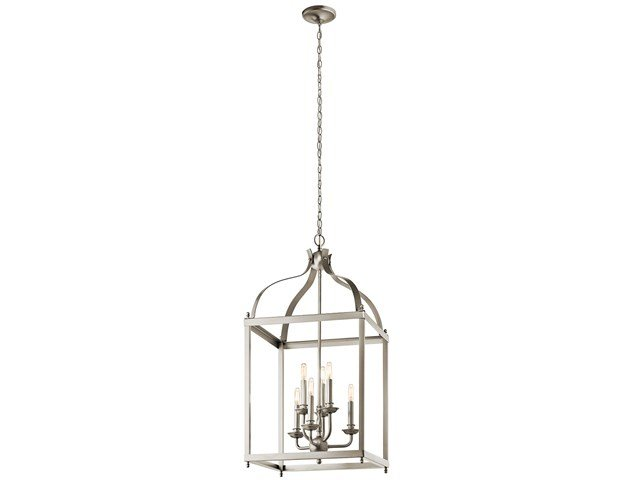Larkin™ 6 Light Foyer Pendant Brushed Nickel