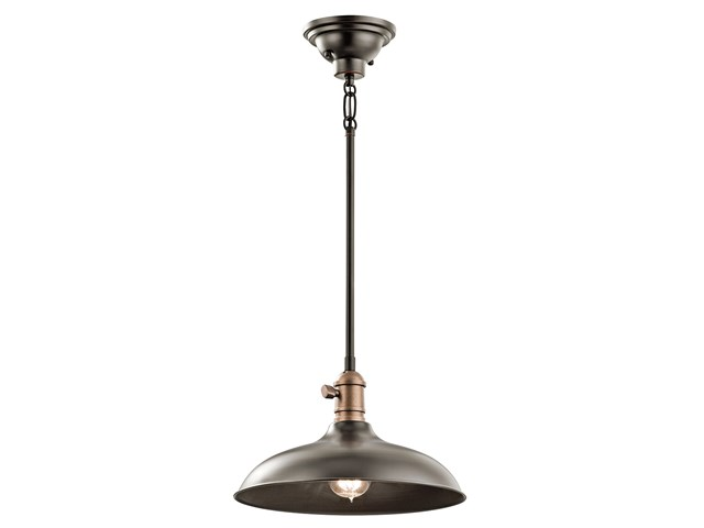 Cobson 1 Light Convertible Pendant Olde Bronze®
