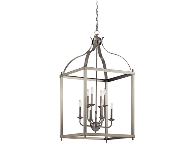 Larkin™ 8 Light Foyer Pendant Brushed Nickel