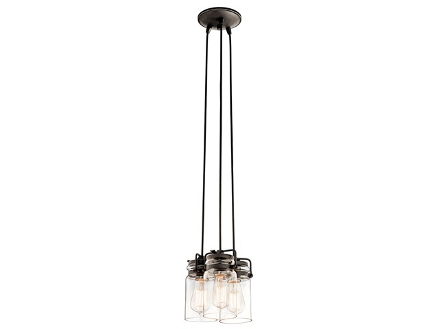 Brinley 3 Light Pendant Olde Bronze®