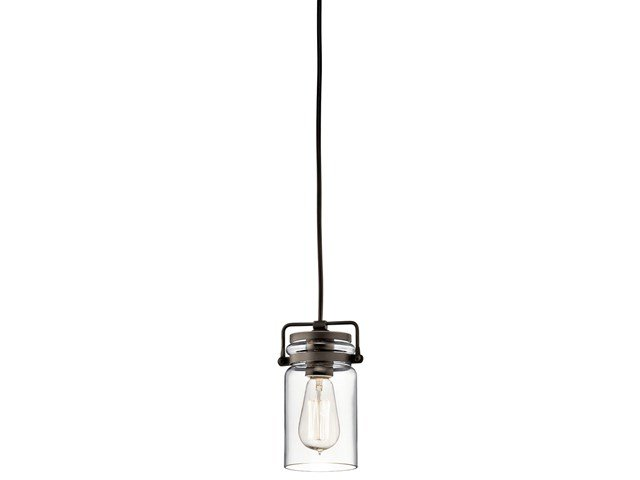 Brinley™ 1 Light Mini Pendant in Olde Bronze®