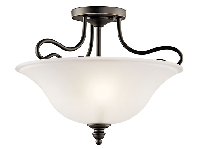 Tanglewood™ 2 Light Semi Flush Olde Bronze®