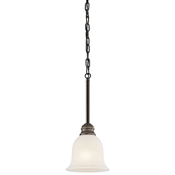 "Tanglewood™ 6.25"" 1 Light Mini Pendant Olde Bronze®"