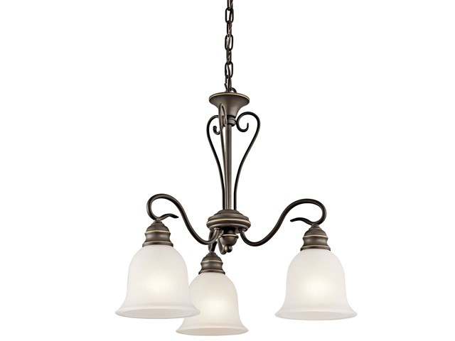 Tanglewood™ 3 Light Chandelier Olde Bronze®