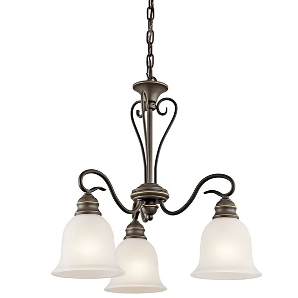 Tanglewood™ 3 Light Chandelier with LED Bulbs Olde Bronze®