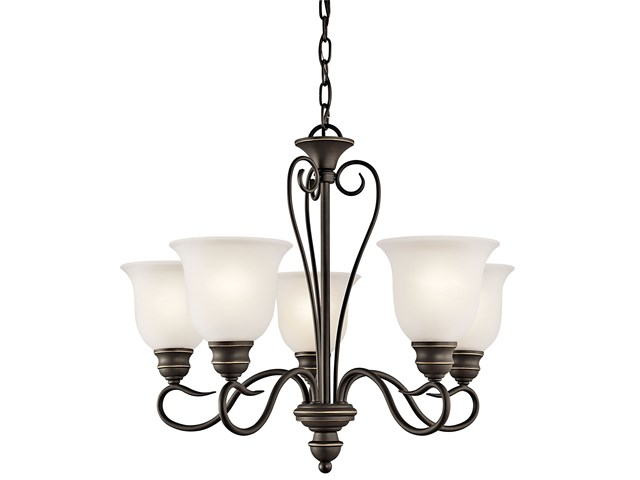 Tanglewood™ 5 Light Chandelier Olde Bronze®