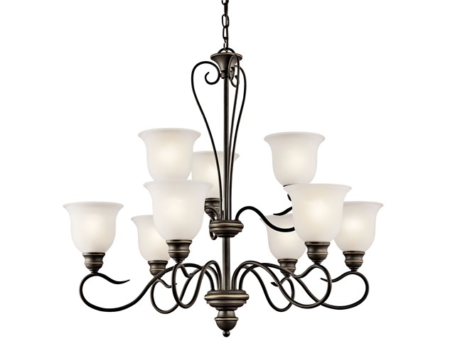 Tanglewood™ 9 Light Chandelier Olde Bronze®