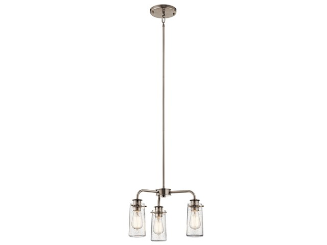 Braelyn 3 Light Convertible Chandelier Classic Pewter