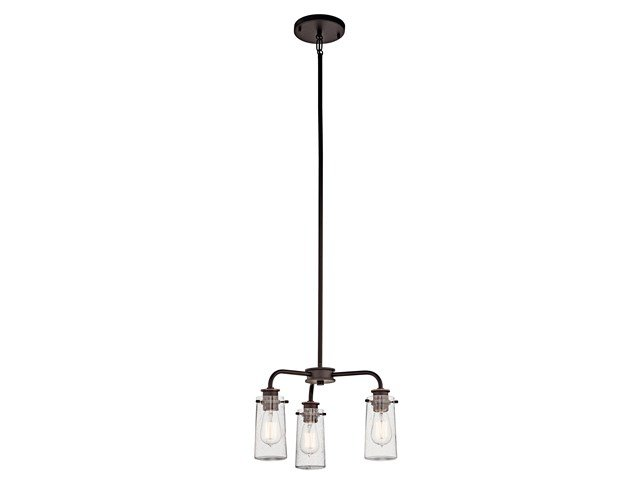 Braelyn™ 3 Light Convertible Chandelier Olde Bronze®