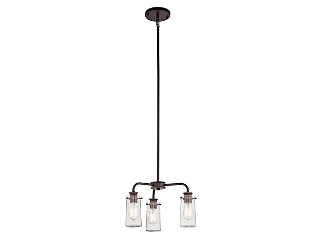 Braelyn 3 Light Convertible Chandelier Olde Bronze®